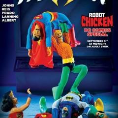 'Robot Chicken' nos trae un capítulo especial dedicado a DC que hasta ha inspirado una portada de 'Aquaman'