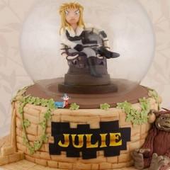 Tú también quieres esta tarta de cumpleaños de 'Dentro del laberinto'