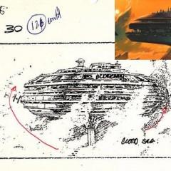 Primeros bocetos e imágenes del rodaje de Star Wars