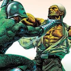 'Doc Savage: ¡los destructores de la Tierra!', a más ver, Hombre de bronce