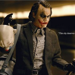 Impresionante figura del Joker de Heath Ledger