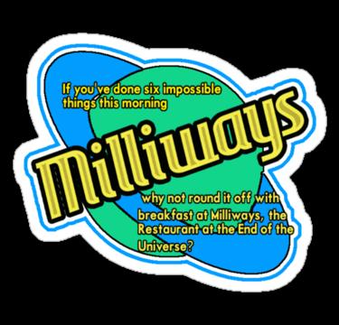 Milliways, el restaurante al final del universo