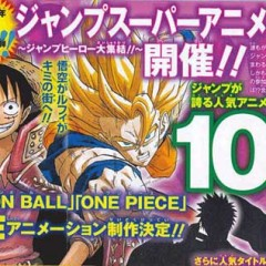 Shonen Jump cumple 40 años y lo celebra con un nuevo anime de Dragon Ball