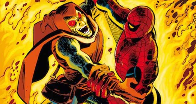 Spiderman de Stern y Romita portada