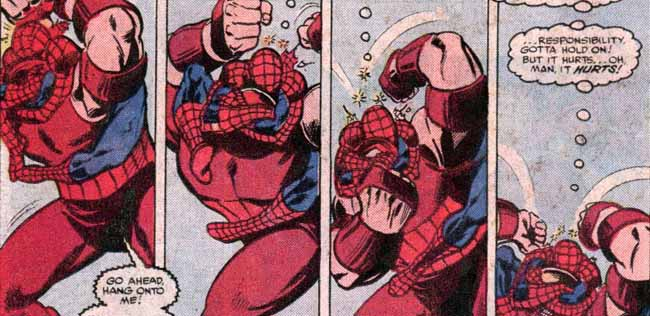 Spiderman de Stern y Romita interior 2