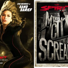 Primer teaser trailer y nuevos posters de The Spirit de Frank Miller