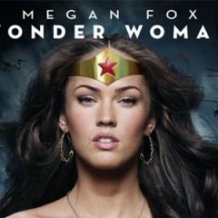 (Fan póster) Megan Fox, ella sí sería una buena Wonder Woman