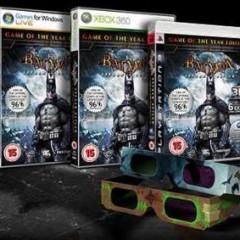'Batman: Arkham Asylum' versión 3-D para finales de marzo