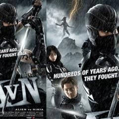 'Alien vs Ninja', ¿por qué conformarse con uno cuando puedes tener a los dos?