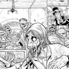 'Marvel Zombies Christmas Carol', un primer vistazo a lo último de David Baldeón.