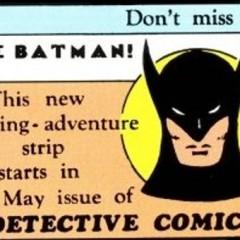 La primerísima imagen de Batman