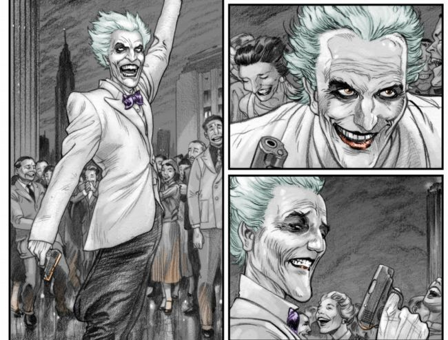 El Joker también tiene su cuota en esra obra