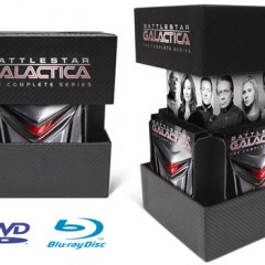 'Battlestar Galactica: The Complete Series' en Blu-ray, sencillamente espectacular