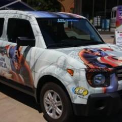 Honda Element del Capitán América