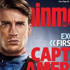 ¡Primer vistazo de Chris Evans como el Capitán América!
