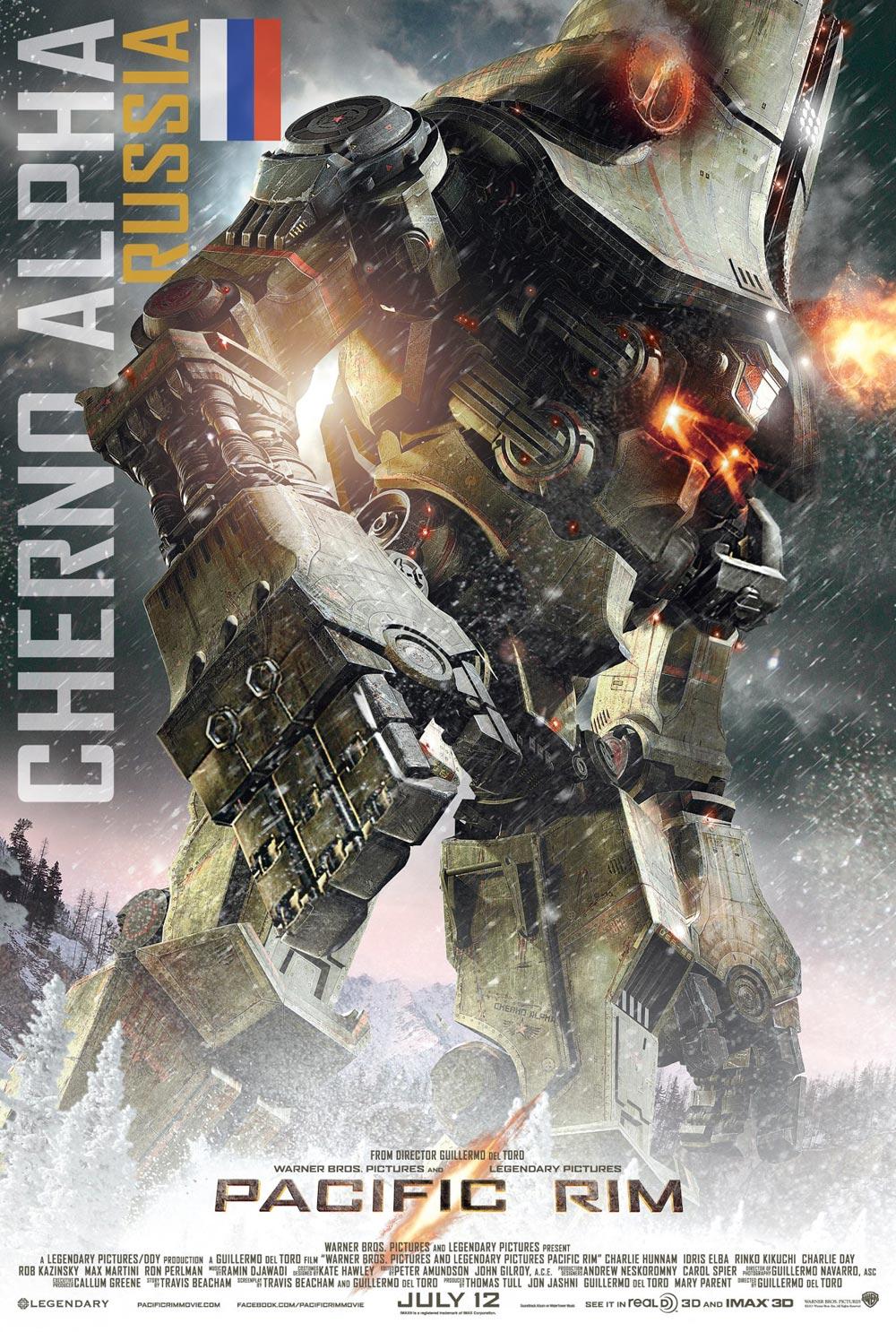Jaeger Cherno Alpha de Pacific Rim