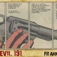 Daredevil: «Mi pistola no tiene balas» [17 Viñetas]