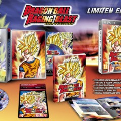 'Dragon Ball: Raging Blast' y su edición limitada para Europa
