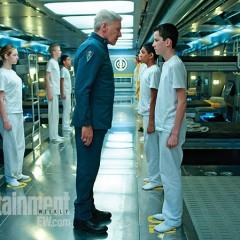 'El Juego de Ender', primera imagen (¡al fin!) con Harrison Ford como el coronel Graff y un crecidito Ender