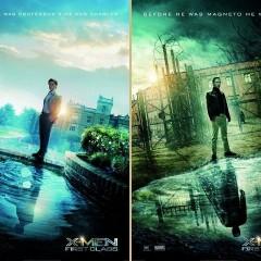 'X-Men: First Class', carteles con Erik y Charles