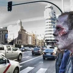 Así fueron los zombis de la marcha zombi de 'Los Muertos Vivientes'