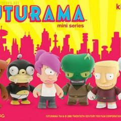 KidRobot celebra el regreso de 'Futurama' con una colección de 12 figuras