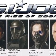 'G. I. Joe: Rise of Cobra', nuevos (y cutres) carteles