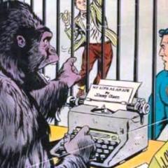 Jimmy Olsen os desea ¡Feliz Día Mundial del Traje de Gorila!