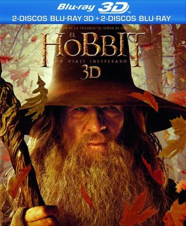 El Hobbit Edición Blu-ray 3D (2 Blu-ray 3D + 2 Blu-ray + copia digital)
