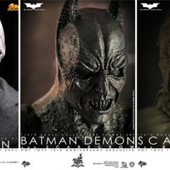 Nuevas figuras de 'Batman Begins' y '20th Century Boys' de Hot Toys