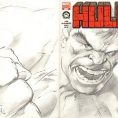 100 portadas para el número 1 de Hulk