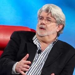 George Lucas afirma tener 50 horas escritas del guión de la serie de 'Star Wars' con actores reales