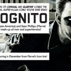 Ed Brubaker habla sobre su próximo proyecto, Incognito