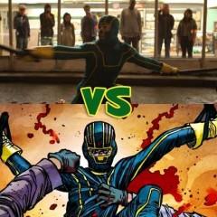 'Kick-Ass': comparando la película y el cómic