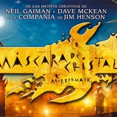 La Máscara de Cristal de Neil Gaiman y Dave McKean pronto en Blu-ray
