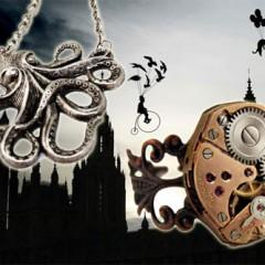 Preciosas joyas steampunk de London Particulars