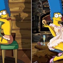 Marge Simpson posa ligerita de ropa para Playboy