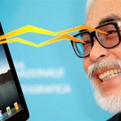 Hayao Miyazaki compara el iPad con la masturbación