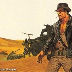 'Indiana Jones', arte conceptual de Jim Steranko