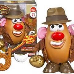 Mr Potato Jones y familia
