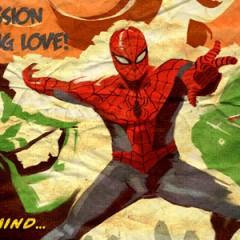 Posters en versión Noir de películas de superhéroes
