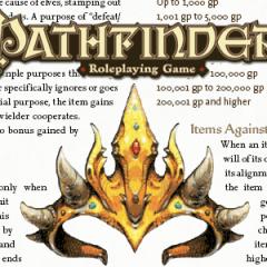 Añadidos para Pathfinder RPG: Clases de Prestigio y Objetos Mágicos