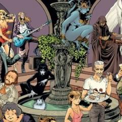 Poster del 20 aniversario de The Sandman