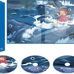 Edición especial japonesa en Blu-ray de 'Ponyo en el acantilado'