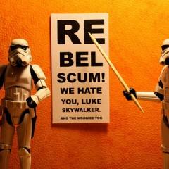 Stormtroopers 365, ¿puedes leer esto Luke Skywalker?