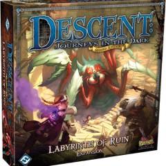 El Laberinto de la Perdición, segunda expansión de Descent: Viaje a las tinieblas