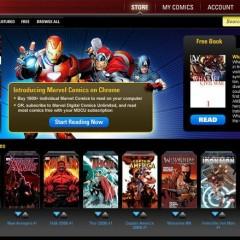 Marvel lanza aplicación para leer cómics en Chrome