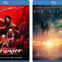 'Sword of the Stranger' y 'Evangelion: 1.11  You are (not) Alone' ya en las tiendas. Selecta Visión habla de sus Blu-ray