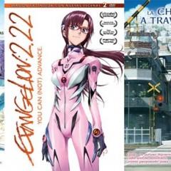 'Evangelion 2.22' y 'La chica que saltaba a través del tiempo', novedades de Selecta Vision para octubre