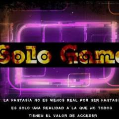 Solo Game, un proyecto subcultural para televisión